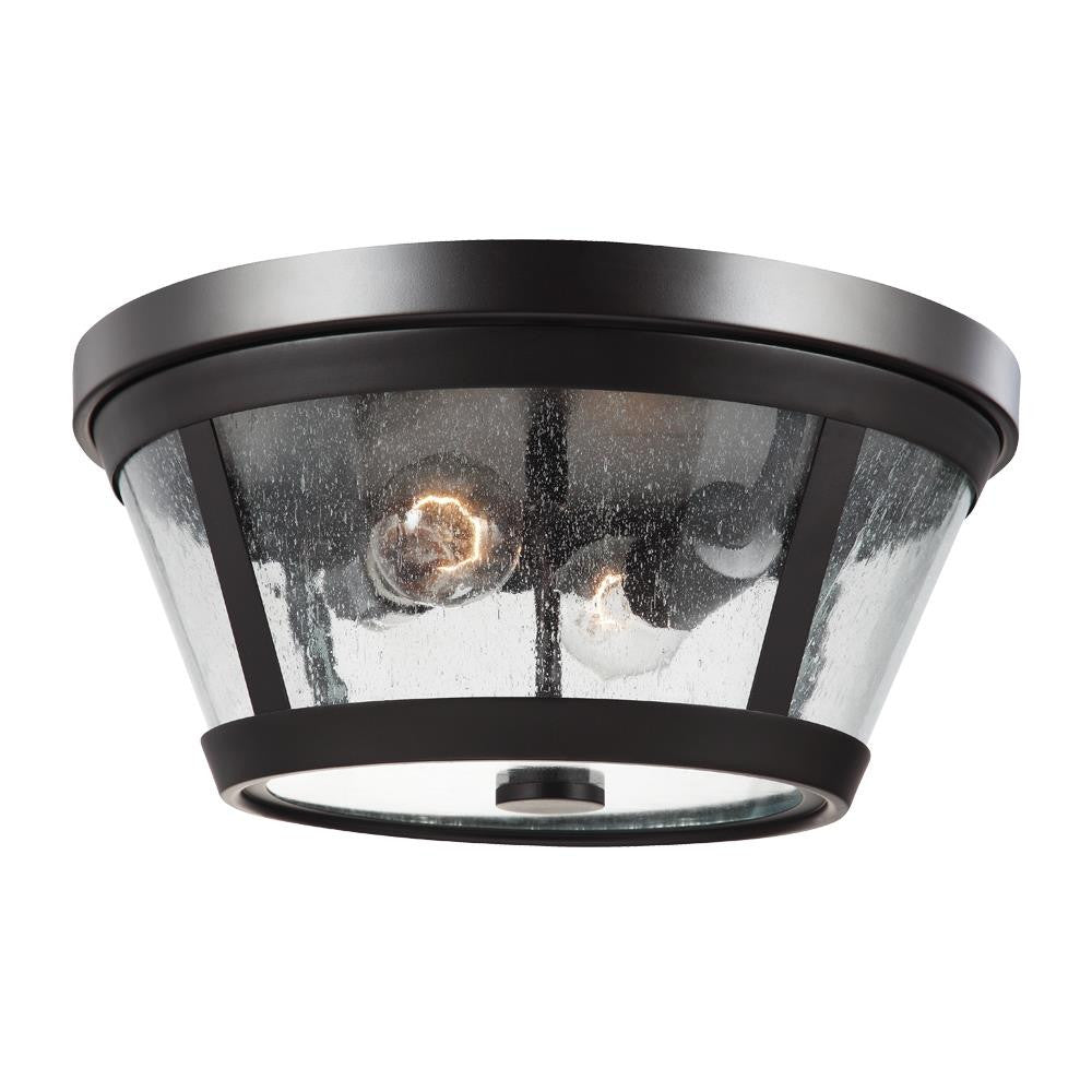 Harrow Flush Mount in Oil Rubbed Bronze by Feiss FM393ORB