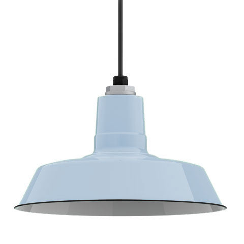 Ivanhoe Sky Chief Porcelain Pendant in Delphite Blue