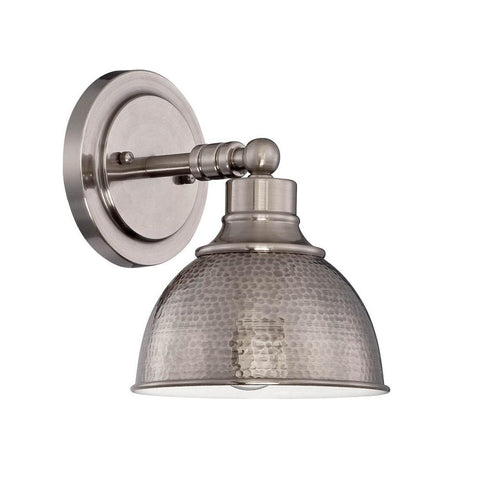Timarron Industrial Sconce in Antique Nickel by Craftmade 35901-AN