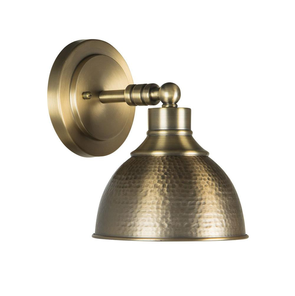 Timarron Industrial Sconce in Legacy Brass by Craftmade 35901-LB