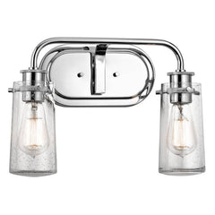 2 Light Braelyn Vanity in Chrome by Kichler Lighting 45458CH