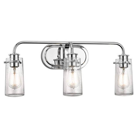3 Light Braelyn Vanity in Chrome by Kichler Lighting 45459CH