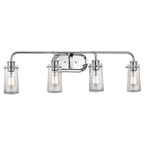 4 Light Braelyn Vanity in Chrome by Kichler Lighting 45460CH
