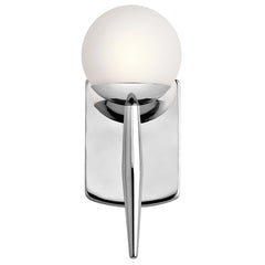 Jasper Sconce in Chrome by Kichler Lighting ( 45580CH) | Lighting Connection