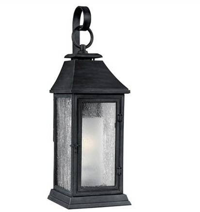 Shepherd Outdoor Sconce by Feiss in Dark Weathered Zinc OL10601DWZ