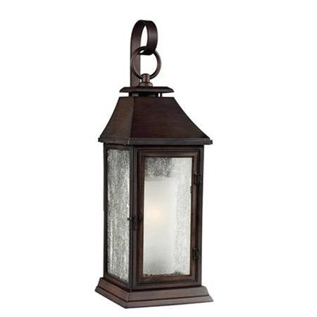Shepherd Outdoor Sconce by Feiss in Heritage Copper OL10601HTCP