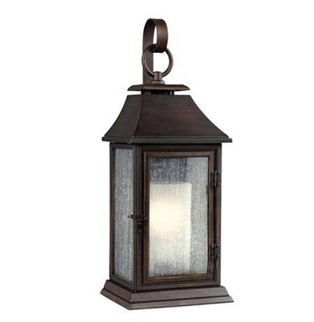 Shepherd Outdoor Sconce by Feiss in Heritage Copper OL10602HTCP