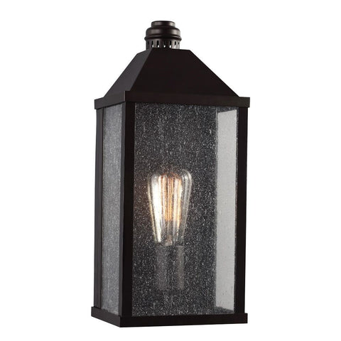 Lumiere Outdoor Wall Sconce bin Oil Rubbed Bronze by Feiss OL18000ORB