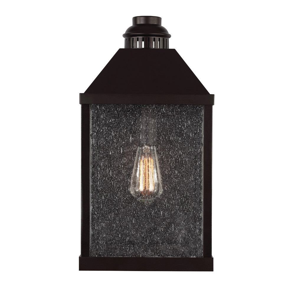 Lumiere Outdoor Wall Sconce bin Oil Rubbed Bronze by Feiss OL18002ORB
