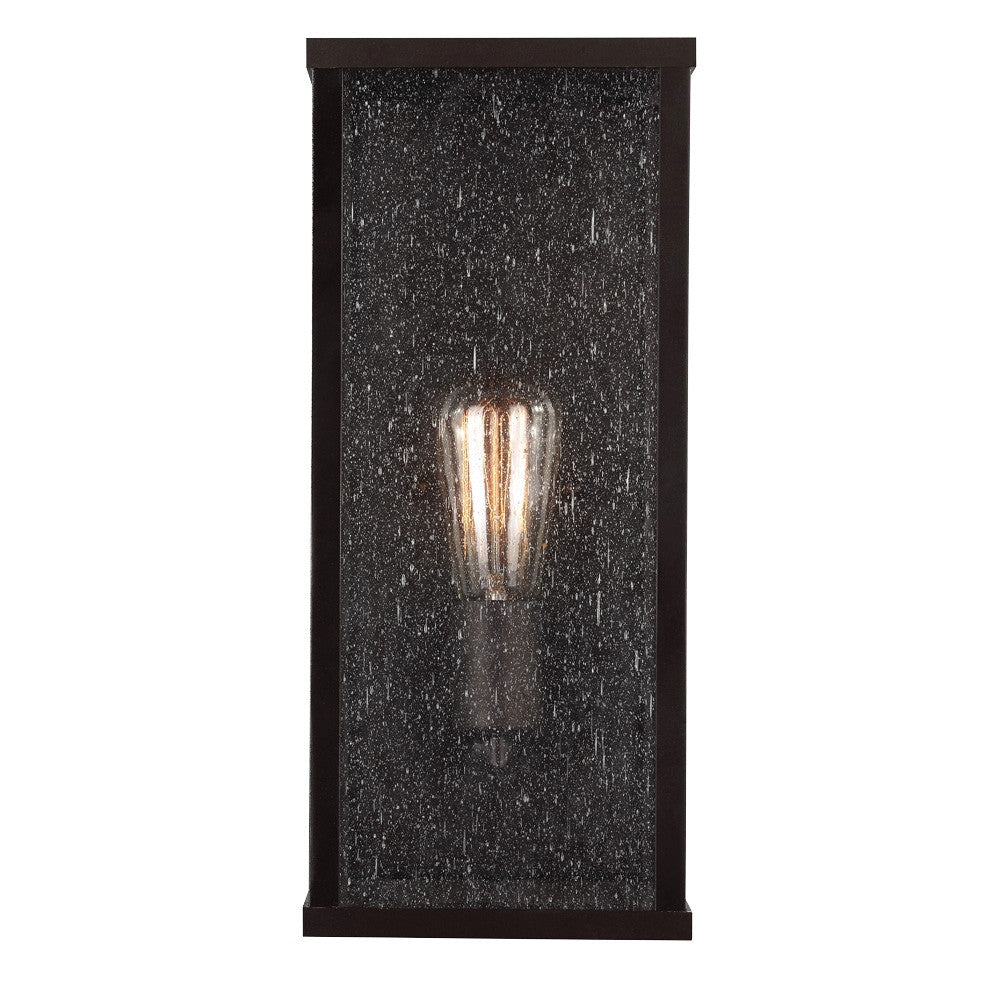 Lumiere Outdoor Wall Sconce bin Oil Rubbed Bronze by Feiss OL18005ORB