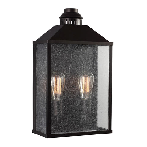 Lumiere Outdoor Wall Sconce bin Oil Rubbed Bronze by Feiss OL18011ORB