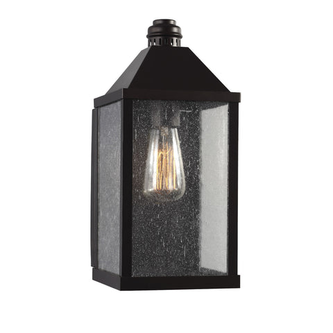 Lumiere Outdoor Wall Sconce bin Oil Rubbed Bronze by Feiss OL18013ORB