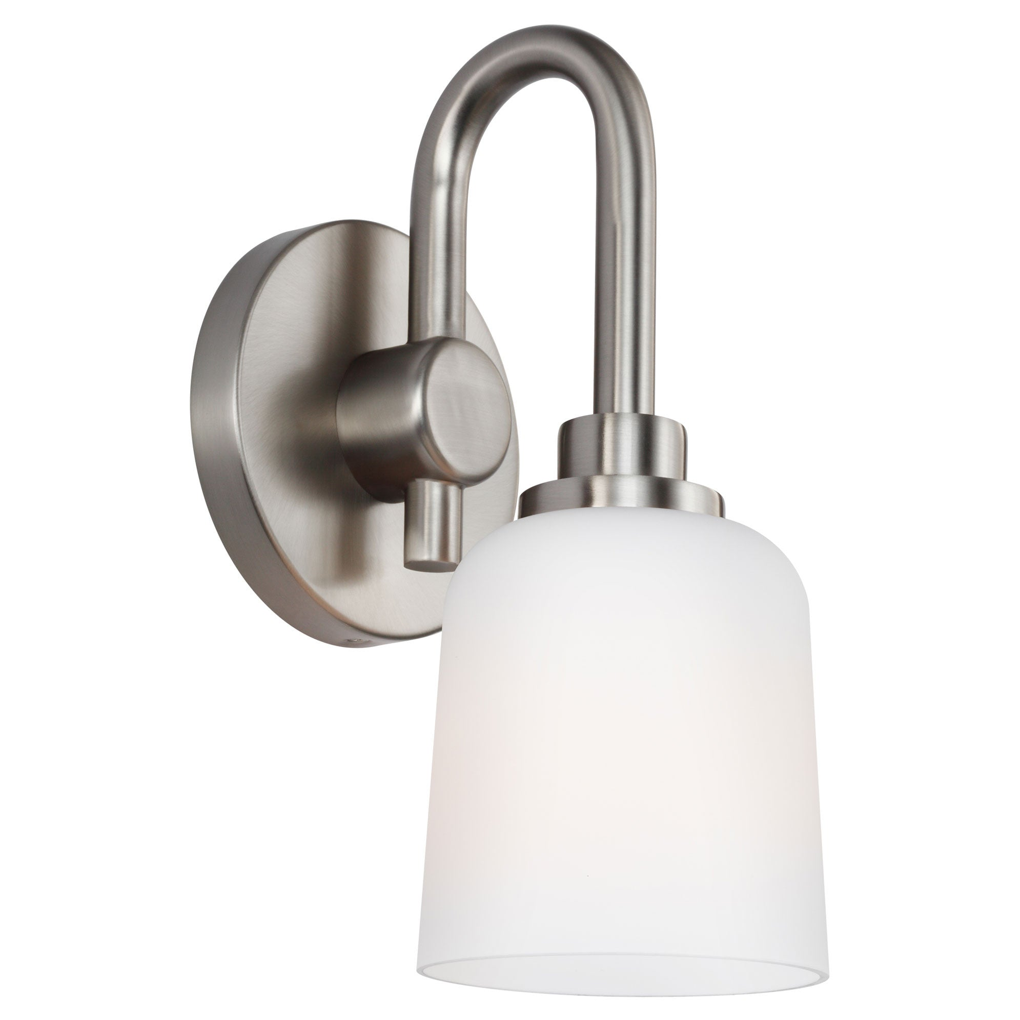 Feiss 1 Light Reiser Bath Light in Satin Nickel VS23901SN