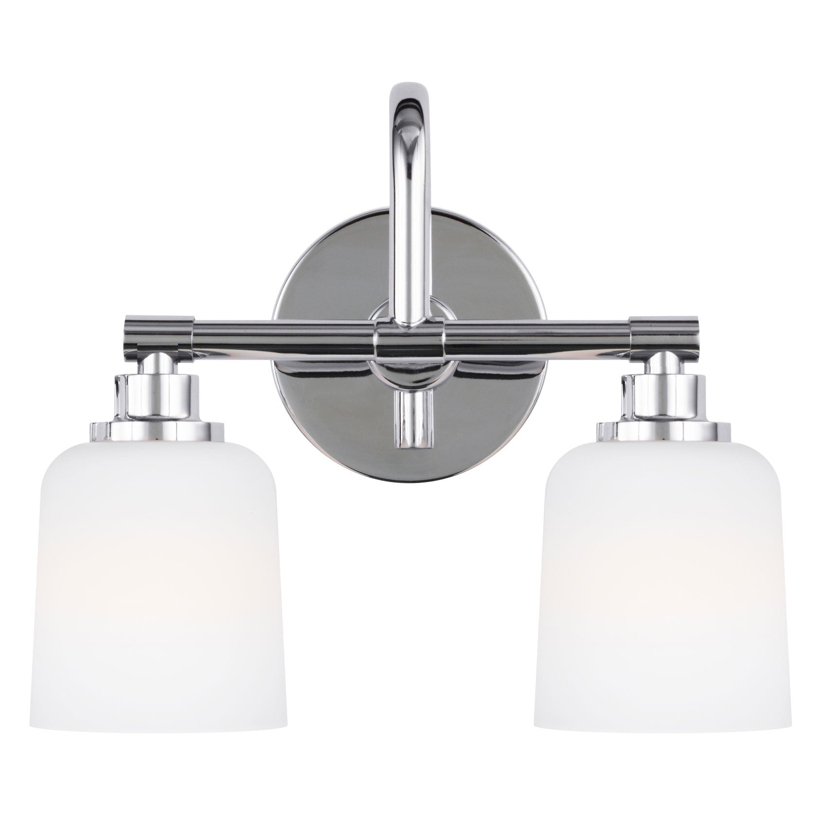 Feiss 2 Light Reiser Vanity Light in Chrome VS23902CH