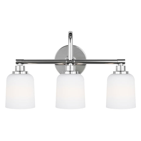 Feiss 3 Light Reiser Vanity Light in Chrome VS23903CH