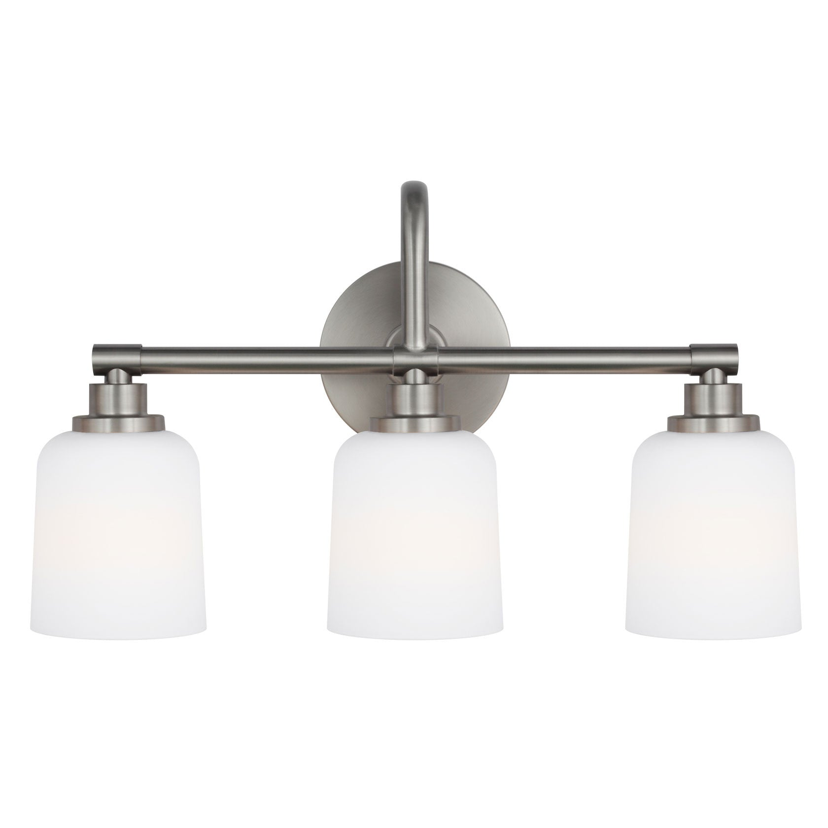 Feiss 3 Light Reiser Vanity Light in Satin Nickel VS23903SN