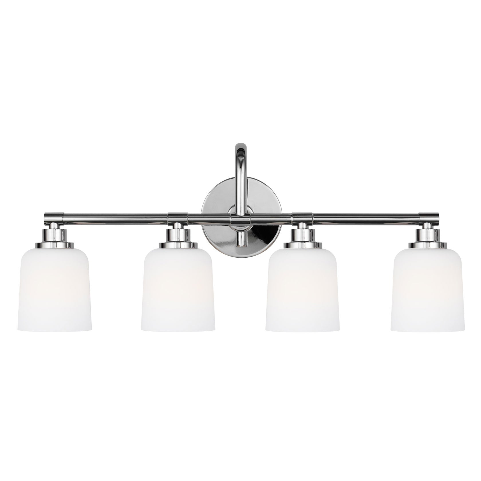 Feiss 4 Light Reiser Vanity Light in Chrome VS23904CH