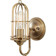 Urban Renewal 1 light Wall Sconce in Dark Antique Brass by Feiss WB1703DAB