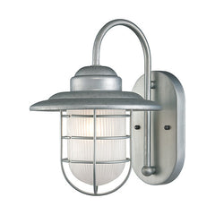 Outdoor Nautical Coastal Wall Sconce with Galvanized Finish by Millennium Lighting 5390GA