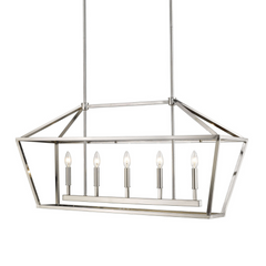 Poppy Cage Linear Pendant