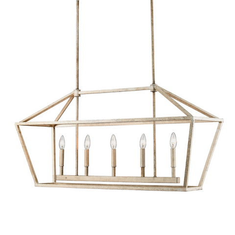 Poppy Cage Linear Pendant OPEN BOX