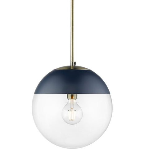 Dixon Pendant in Aged Brass