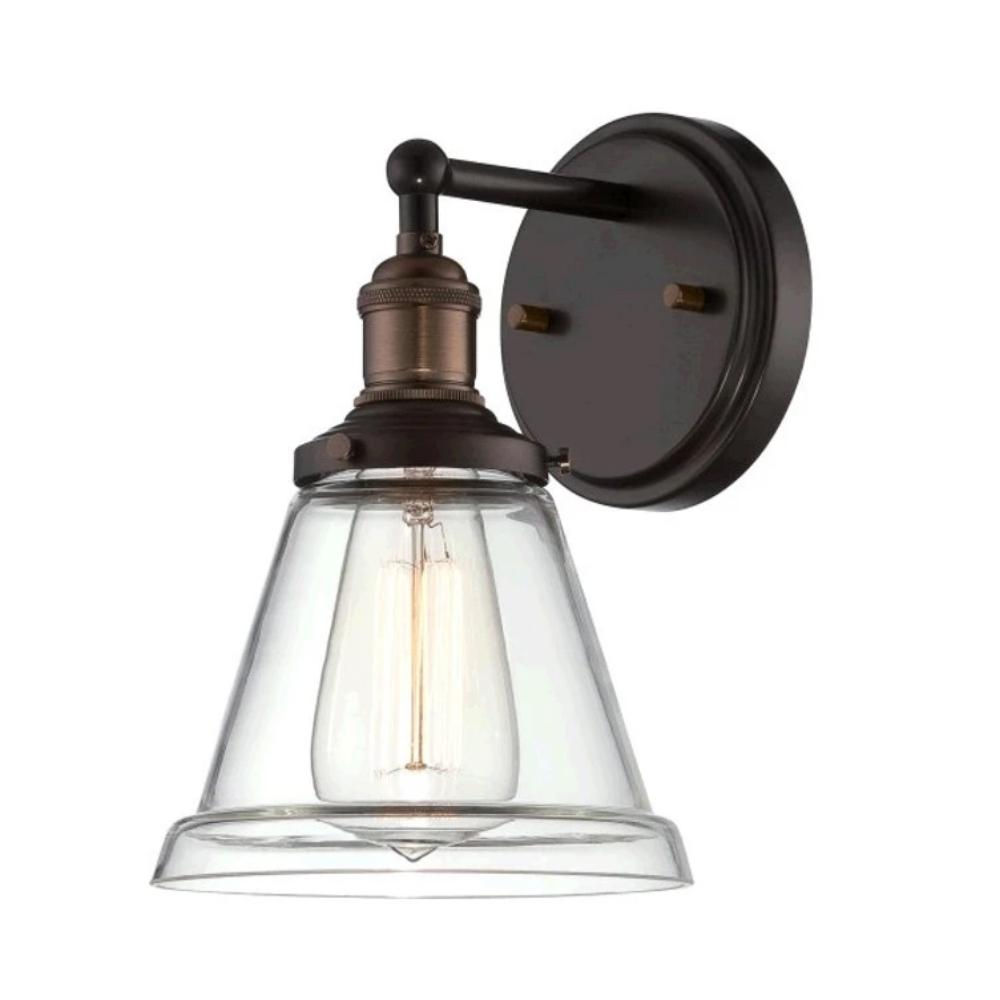 Vintage Wall Sconce in Rustic Bronze by Nuvo Lighting 60-5512