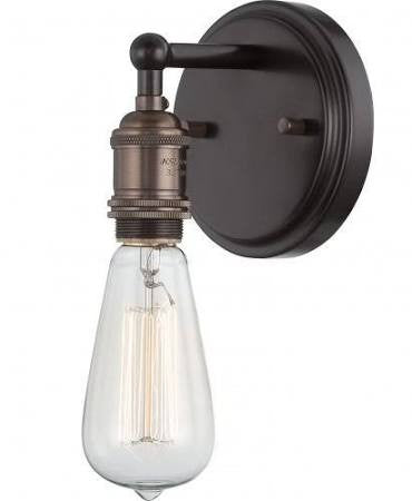 Vintage Wall Sconce in Rustic Bronze by Nuvo Lighting 60-5515