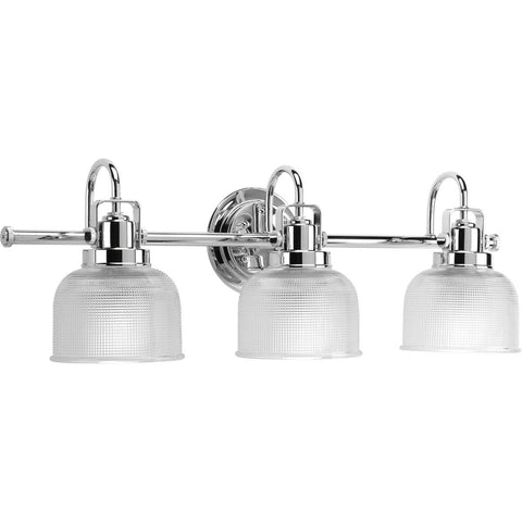 Archie 3 Light Vanity in Polished Chrome by Progress Lighting P2992-15