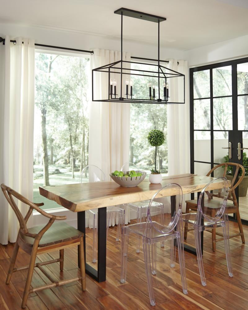 Perryton Linear Pendant with Blacksmith Finish by Sea Gull Lighting 6615008-839