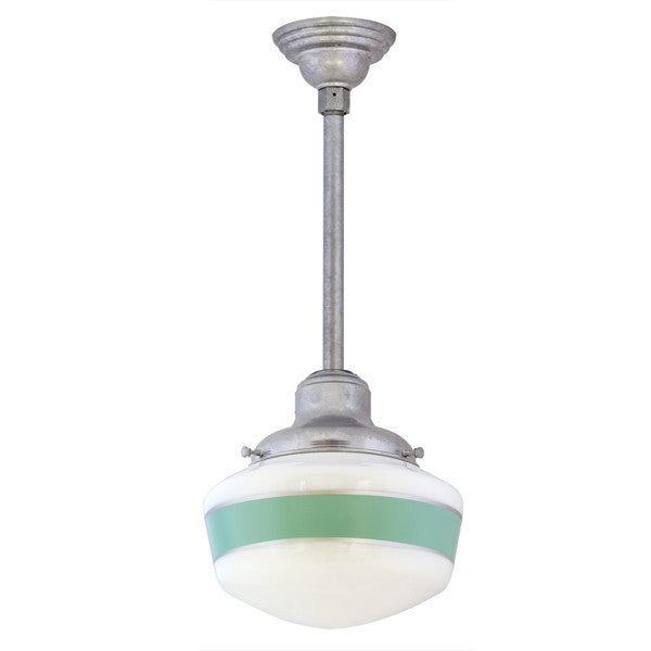 Primary school house pendant by barnlight lighting connection primary galvanized school house pendant single band aloadofball Images