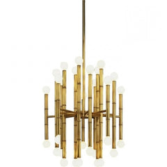 Meurice Pendant in Antique Brass (RA-654) by Robert Abbey | Lighting Connection
