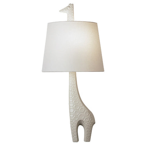 Jonathan Adler Ceramic Giraffe Wall Sconce Robert Abbey 730L