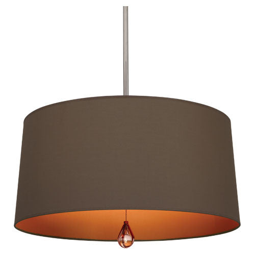 Williamsburg Custis Pendant by Robert Abbey in Revolutionary Storm with William of Orange Lining WB336