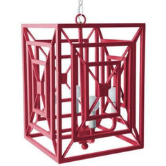 Jay Chandelier in Stray Dog Pink, by Stray Dog Designs, 13jay-Stray Dog Pink