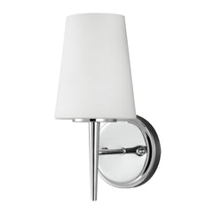 1 Light Driscoll Bath Light in Chrome, by Seagull Lighting, 4140401-05
