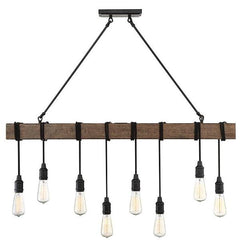 Burgess 8 Light Pendant in Durango by Savoy House 1-990-8-41