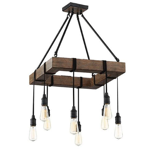Burgess 8 Light Pendant in Durango by Savoy House 1-991-8-41