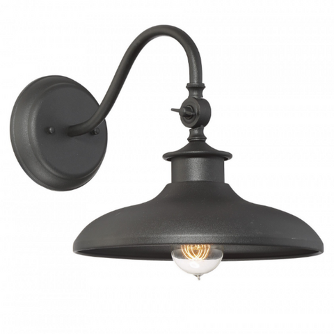 Raleigh Outdoor Wall Sconce by Savoy House in Black 5-9584-BK