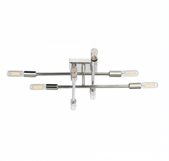 Lyrique Polished Nickel Ceiling Mount by Savoy House 6-7003-8-109