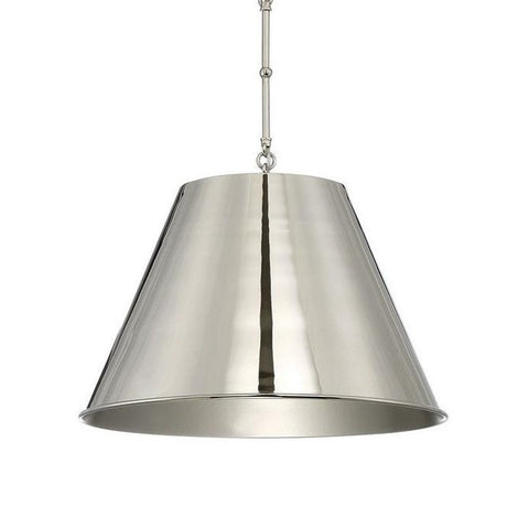 Alden Pendant in Polished Nickel by Savoy House 7-131-1-109