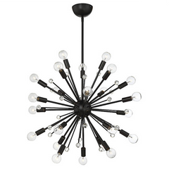 24 Light Galea Chandelier in Classic Bronze by Savoy House 7-6099-24-44