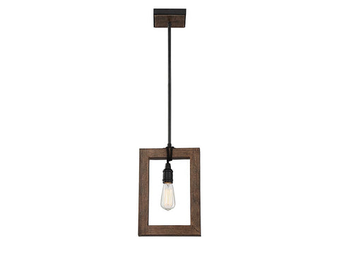 Burgess 1 Light Mini Pendant in Durango by Savoy House SH-7-992-1-41
