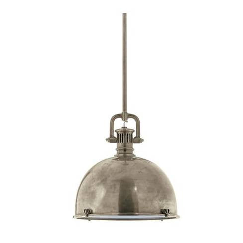 Visual Comfort Yoke Large Pendant in Antique Nickel SL5175AN-AN1
