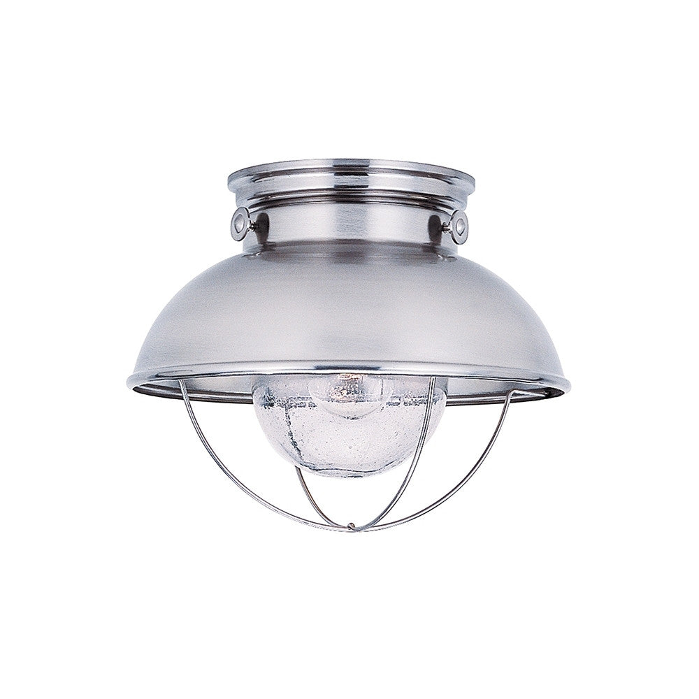Sebring Nautical Outdoor Ceiling Mount in Brushed Stainless by Sea Gull Lighting 8869-98