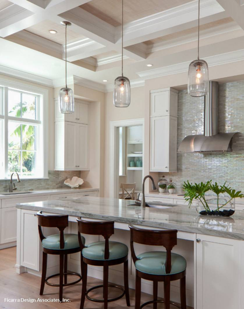 Coastal Kitchen Lighting
