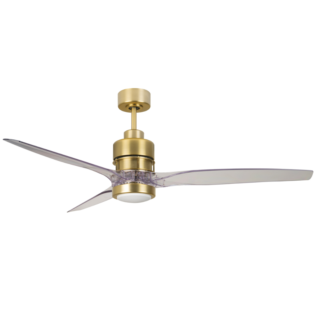 Sonnet Brass Ceiling Fan Lighting Connection Lighting
