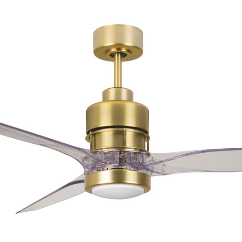 Sonnet Brass Ceiling Fan