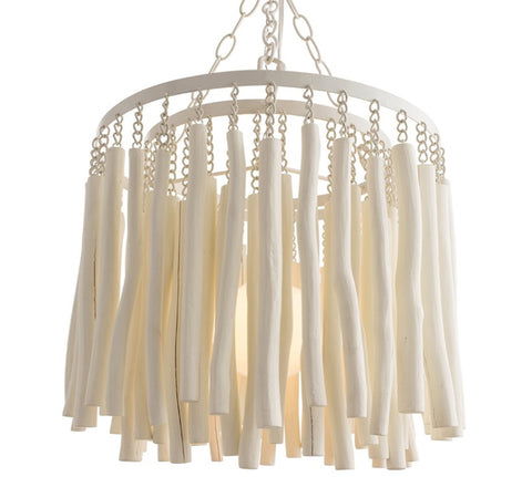 Tilda Pendant in Whitewash Finish by Arteriors Home 49558