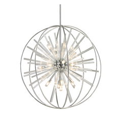Twilight 15 Light Chandelier in Polished Chrome by Elk Lighting 11563/15